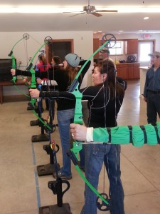 Intro to Ladies Archery Day 2